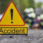 Accident lângă Moftin. O mașină, în șanț