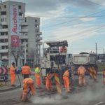 Suntem în plină campanie de plombare a străzilor (Foto)